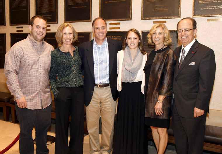 SCA Installs the Kortschak Family Endowed Division Chair